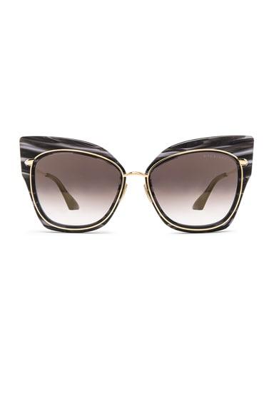 Dita Stormy Sunglasses in Black Swirl
