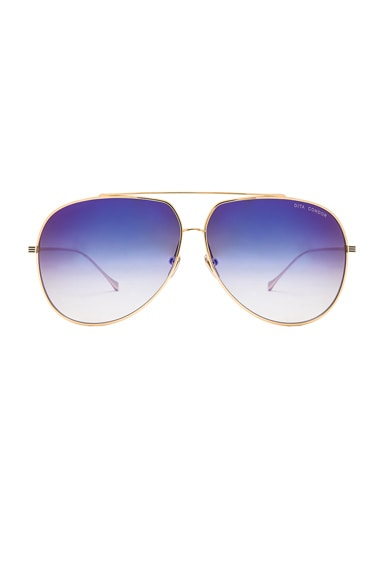 18K Gold Condor Sunglasses