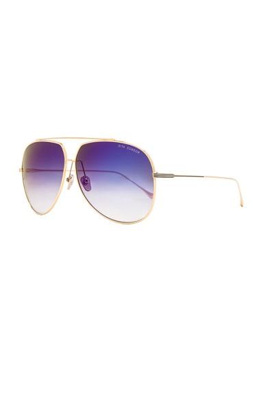 18K Gold Condor Sunglasses