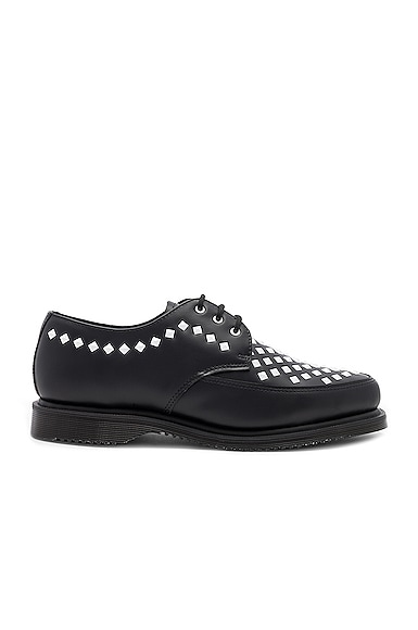 Smooth Leather Rousden Stud Creepers