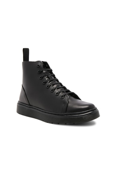 Talib 8 Eye Leather Boots
