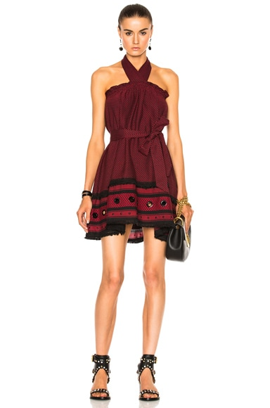 Dodo Bar Or Naomi Dress in Black & Red