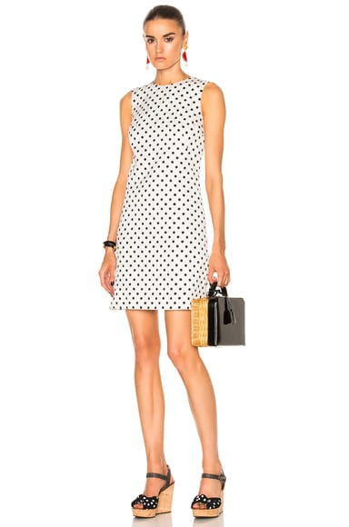 Dolce & Gabbana Sleeveless Dress in Black & White