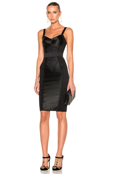 Dolce & Gabbana Sleeveless Dress in Black