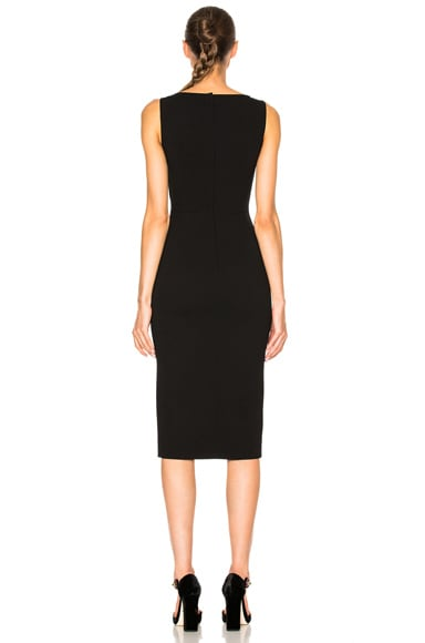 Crepe Stretch Jewel Dress