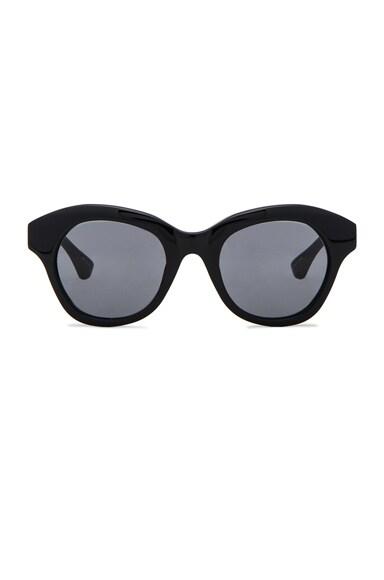 Dries Van Noten Sunglasses in Black