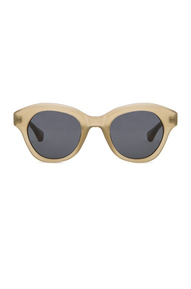 Dries Van Noten Sunglasses in Khaki