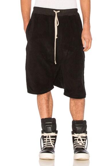 DRKSHDW by Rick Owens Pod Shorts in Black
