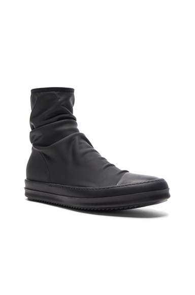 DRKSHDW by Rick Owens Scuba Sock Boots in Black