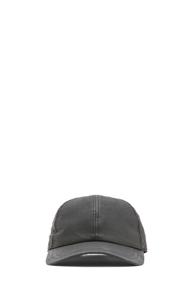 Poplin Wax Baseball Hat