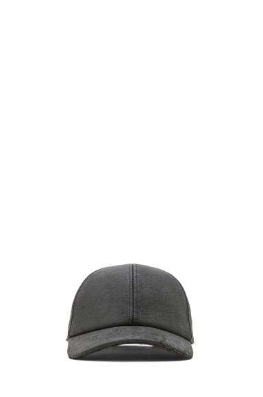 Blister Leather Baseball Hat