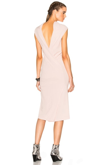 DRKSHDW by Rick Owens Marella Dress in Rose