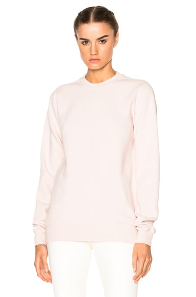DRKSHDW by Rick Owens Crewneck Sweater in Rose