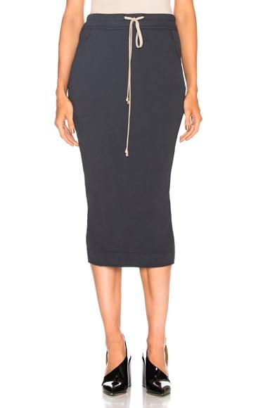 Soft Short Pillar Skirt