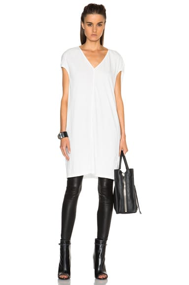 DRKSHDW by Rick Owens Floating Tunic in Milk