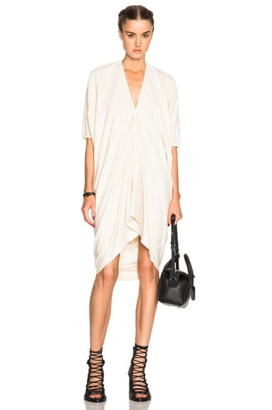 DRKSHDW by Rick Owens Kite Tunic Top in Natural