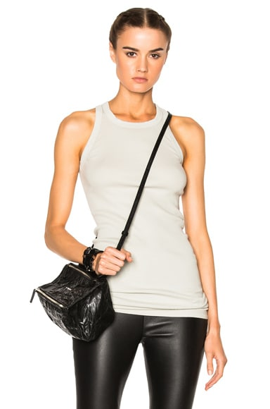 DRKSHDW by Rick Owens Rib Tank Top in Dinge