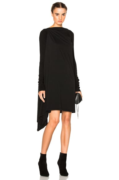 DRKSHDW by Rick Owens Long Sleeve Tunic in Black