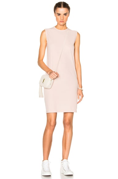 DRKSHDW by Rick Owens Column Tunic in Rose