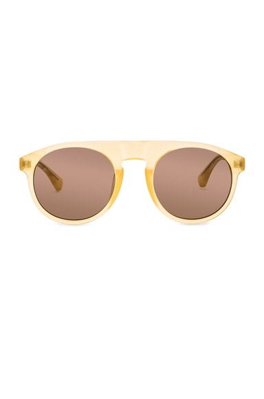 Dries Van Noten Sunglasses in Gold
