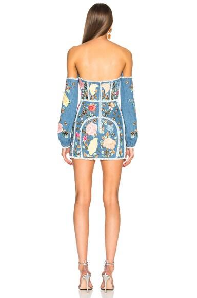Detachable Sleeve Corset Dress