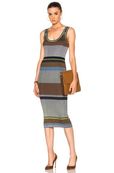 Knit Tank Midi Dress