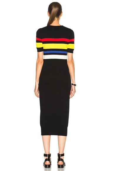 Colored Stripe Dress