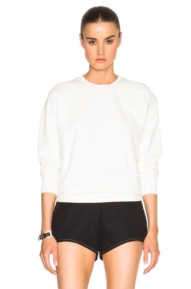 Robert Montgomery Patched Sweatshirt