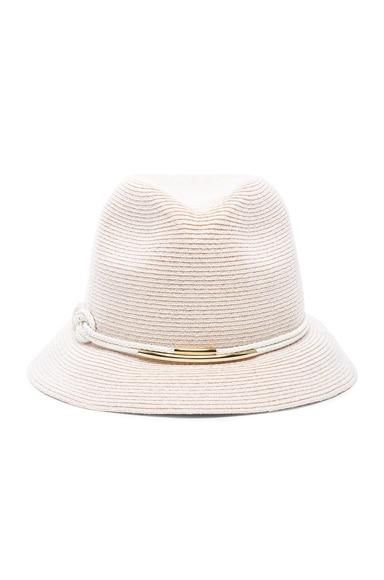 Eugenia Kim Maxi Hat in Bone