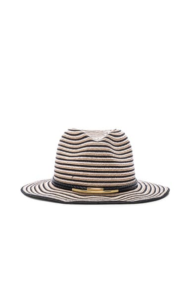 Eugenia Kim Lillian Hat in Black, Camel & Ivory
