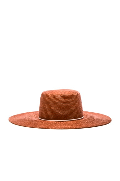 Eugenia Kim Amirah Hat in Rust