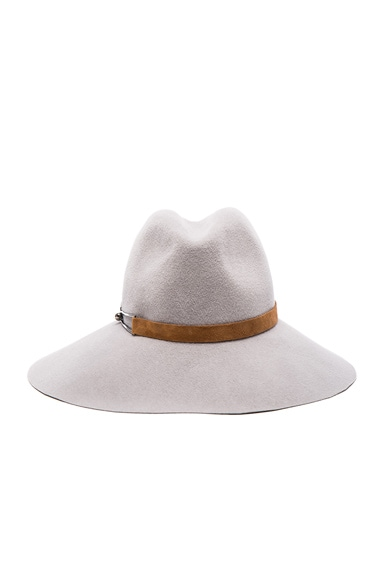 Eugenia Kim Farrah Hat in Light Grey