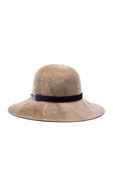 Eugenia Kim Blake Hat in Mink Marble