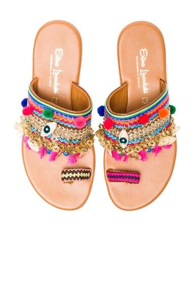 Elina Linardaki Jaipur Sandals in Multi