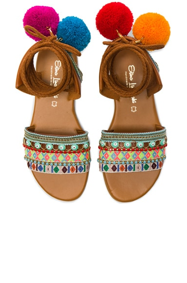 Elina Linardaki LA Lover Sandals in Multi