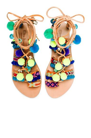 Elina Linardaki Mermaid Motel Sandals in Multi