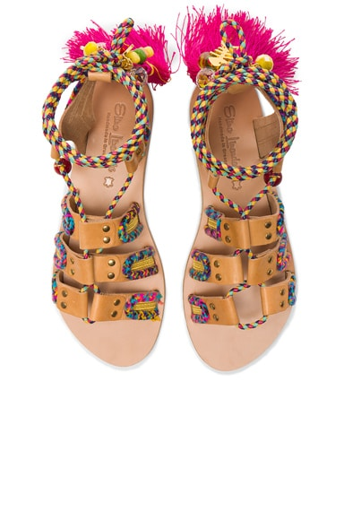 Elina Linardaki Pisces Sandals in Multi