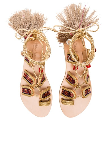 Elina Linardaki The Great Gatsby Sandals in Multi