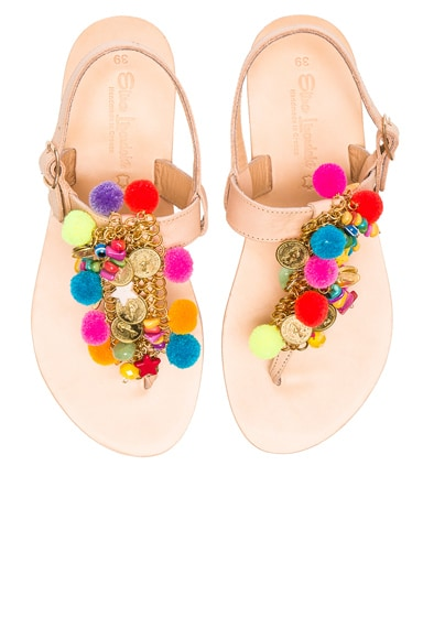 Leather Jelly Tots Sandals