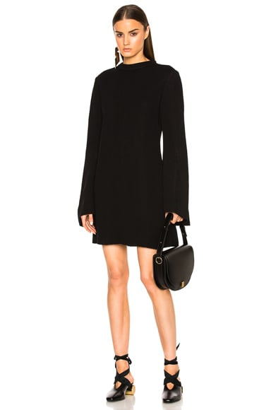 Ellery Duckie Dress in Black