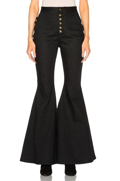 Ellery Ophelia Jeans in Black