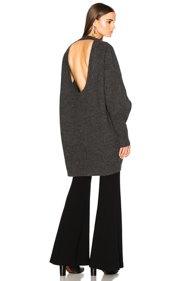 Ellery Napoleon Sweater in Charcoal
