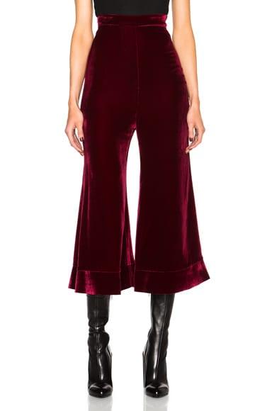 Ellery Lazio Pants in Wine