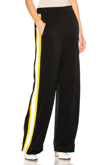 Ellery Reality Pants in Black & Yellow
