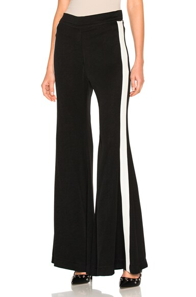 Ellery Lovedolls Pant in Black & Ivory