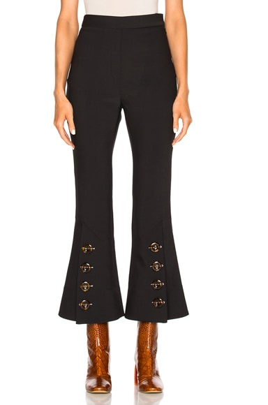 Ellery Fourth Element Pant in Black & Tortoise
