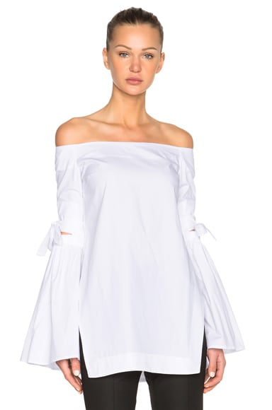 Ellery Cyril Top in White