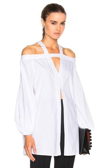 Ellery Jeanne Top in White