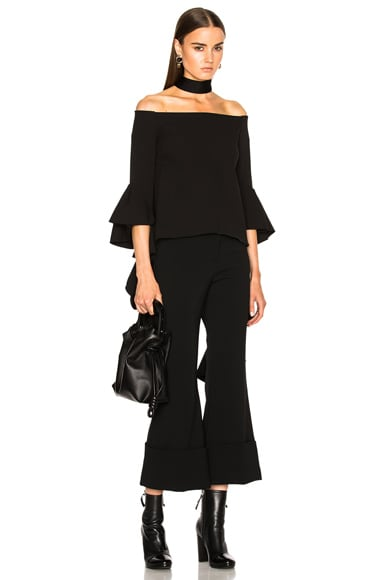 Ellery Delores Top in Black
