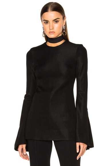 Ellery Inception Top in Black